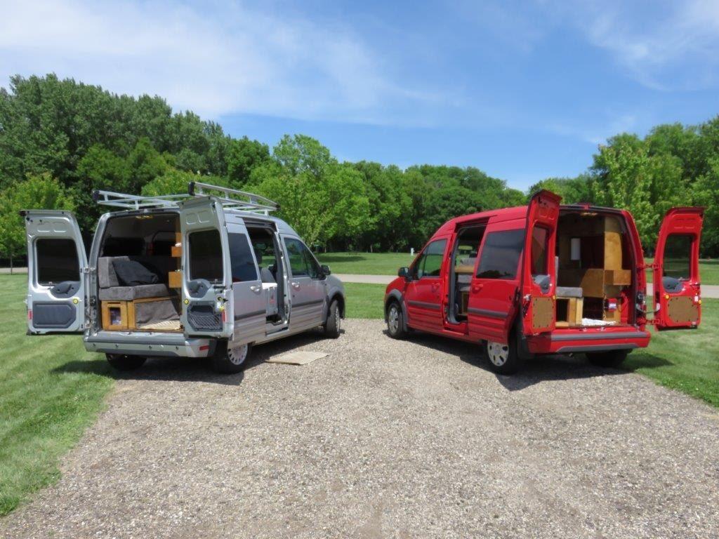 Mejor furgoneta pequeña para camperizar, multiples opciones