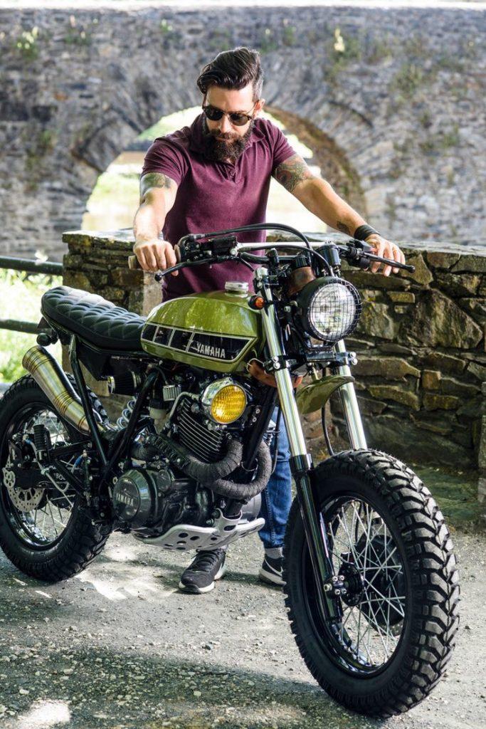 Yamaha XT600 Scrambler by Bold Motorcycles