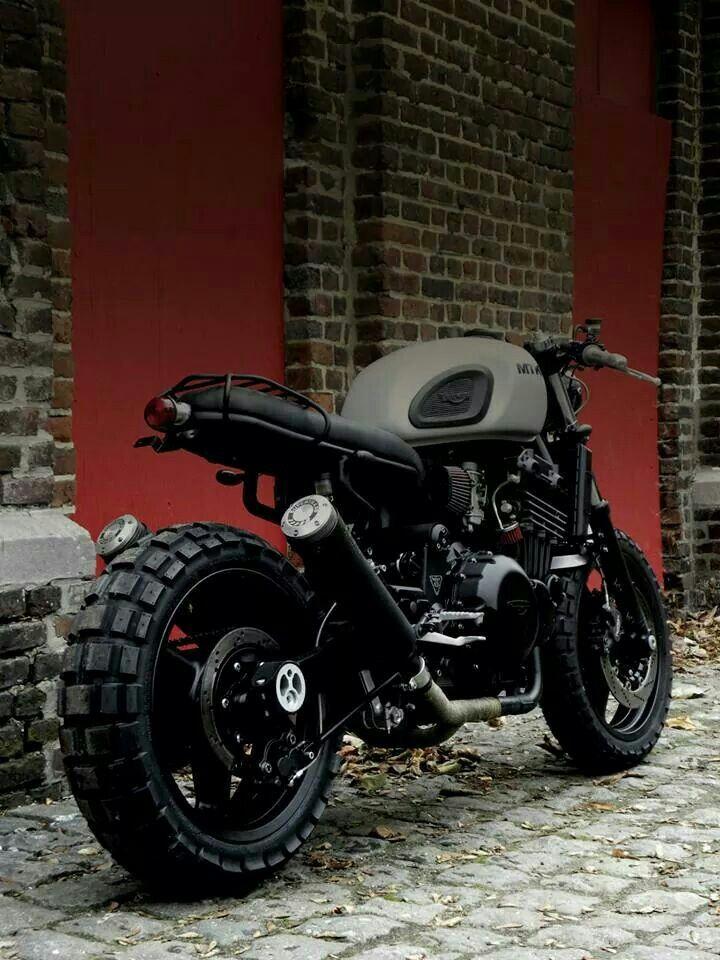 MK20 MTKN MOTORCYCLE, ejemplo de como construir una moto scrambler