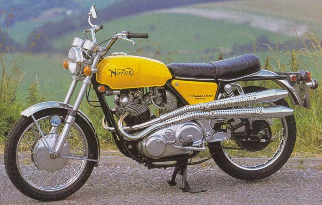 Norton Commando 750S 1970