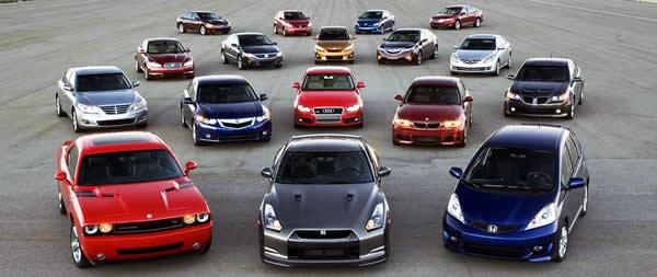 coches de importación que necesitan una ficha reducida